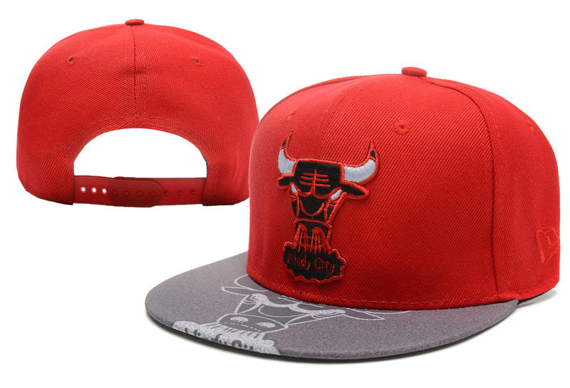 Chicago Bulls Snapback Hat XDF 0512